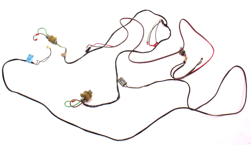 cp044585 front speaker radio wiring harness plugs 81 84 vw rabbit jetta pickup mk1 front speaker radio wiring harness plugs 81 84 vw rabbit jetta 1982 vw rabbit wiring harness at readyjetset.co
