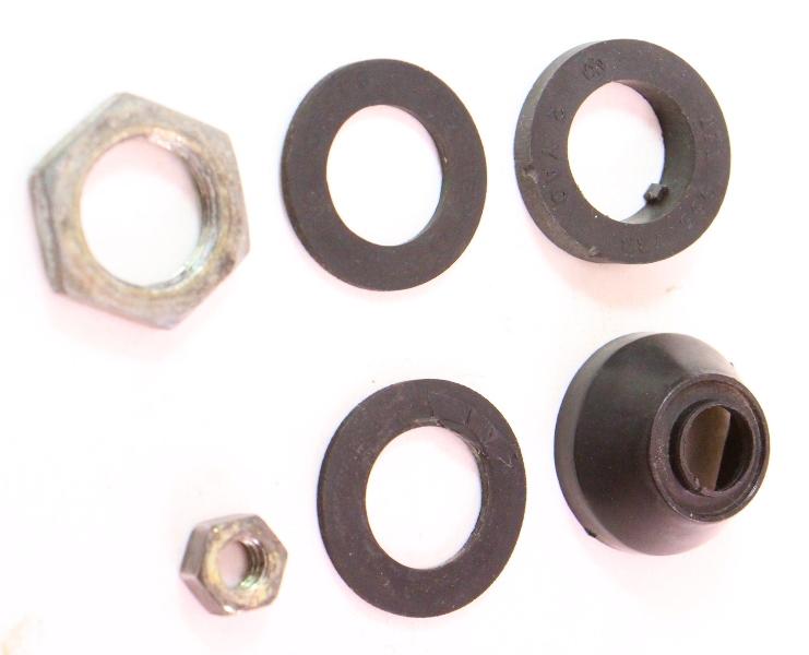 Rear Wiper Body Grommet Seal & Hardware Nut 75-84 VW Rabbit GTI MK1 171 955 733