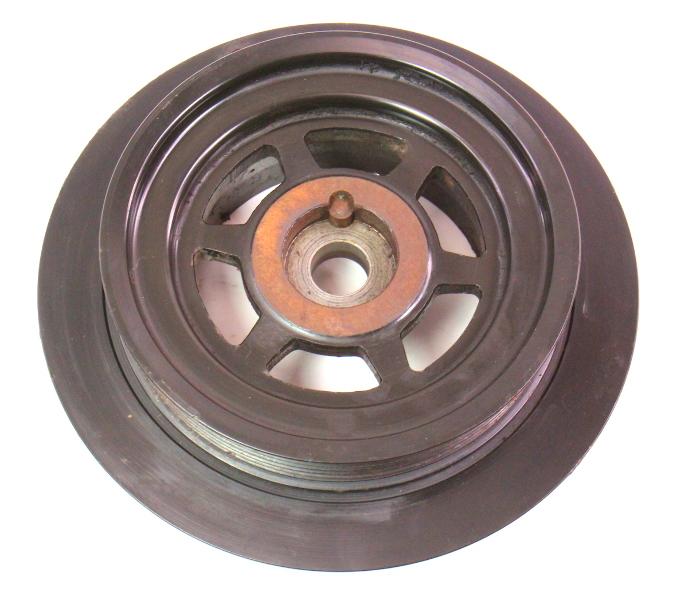 crank shaft pulley harmonic balancer 07 08 vw audi q7 3 6 5 3 wiring harness blue and grey #13