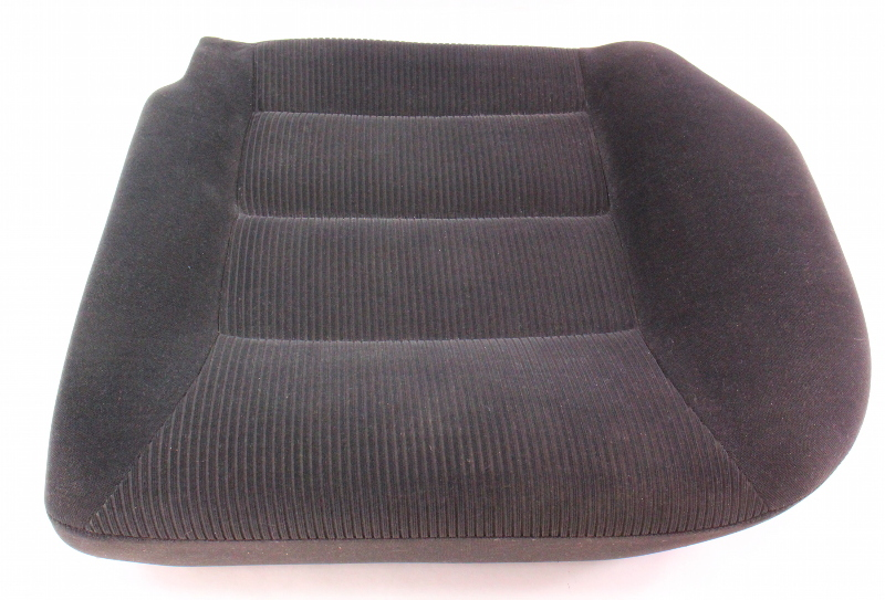 Lh Rear Back Seat Cushion Foam Amp Cover 99 01 Vw Jetta Golf Mk4 Black Cloth