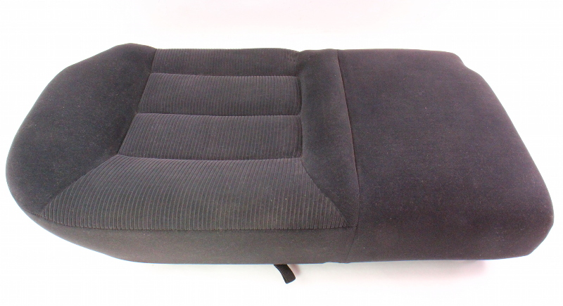 RH Rear Back Seat Cushion Foam & Cover 99-01 VW Jetta Golf MK4 ~ Black Cloth