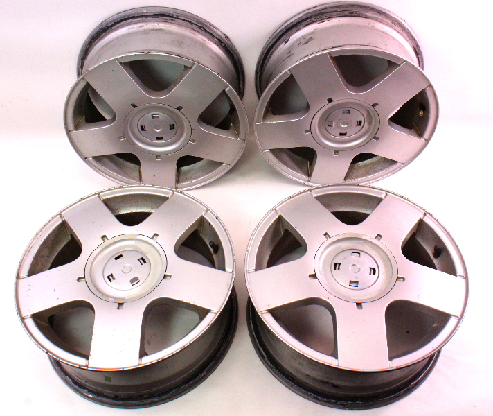 15 X 6 Avus Alloy Wheel Rim Set Of 4 Vw Jetta Golf Mk4