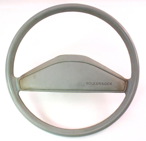 Grey Steering Wheel VW Rabbit Jetta Pickup MK1 - Genuine