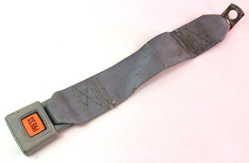 Rear Seatbelt Receiver Buckle 75-84 VW Rabbit MK1 Seat Belt ~ Grey ~ 175 857 739