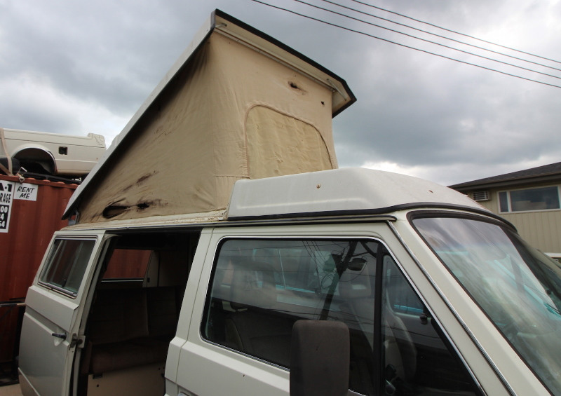 Westfalia Pop Top Conversion 80 91 Vw Vanagon T3 Westy