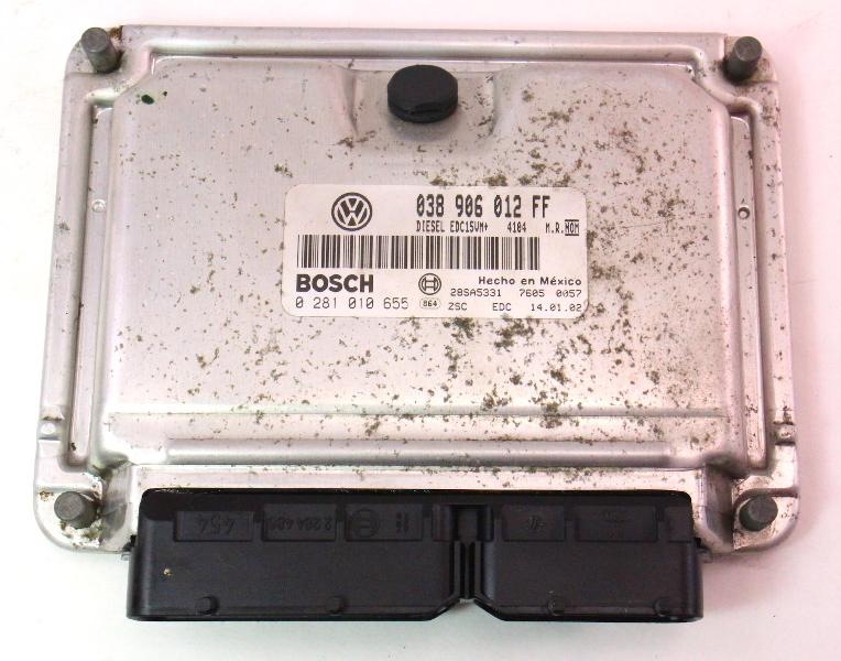Ecu Ecm Engine Computer 2002 Vw Beetle Diesel 1 9 Tdi Alh