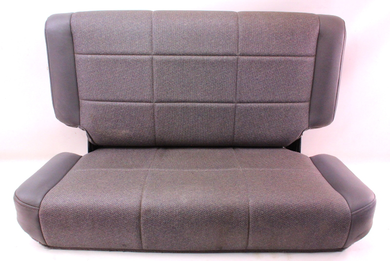 Cp Factory Rear Back Seat Grey Vinyl Jeep Wrangler Tj