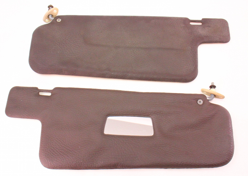 Brown Sun Visor Set Sunvisors 81 84 Vw Rabbit Pickup Jetta
