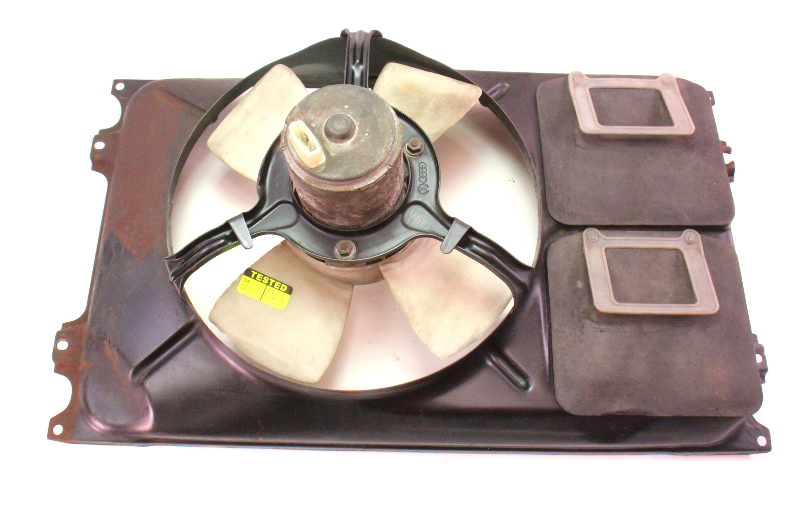 Electric Radiator Cooling Fan Amp Shroud Vw Rabbit Jetta