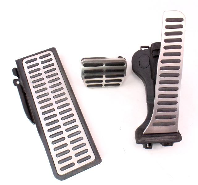 Aluminum Pedal Set Gas Brake Dead Rest 05 10 Vw Rabbit Gti