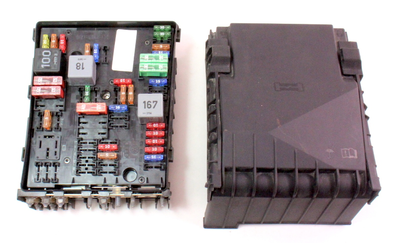 engine bay fuse relay panel block 05 10 vw gti jetta mk5. Black Bedroom Furniture Sets. Home Design Ideas