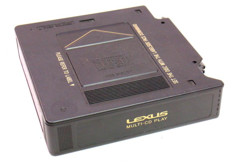 CD Changer Magazine Cartridge 98-05 Lexus GS300 - Genuine
