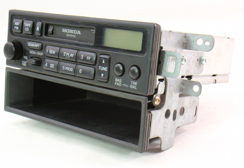 Radio Head Unit Tape Cassette 99 04 Honda Odyssey Genuine 39100 S0x A110 M1