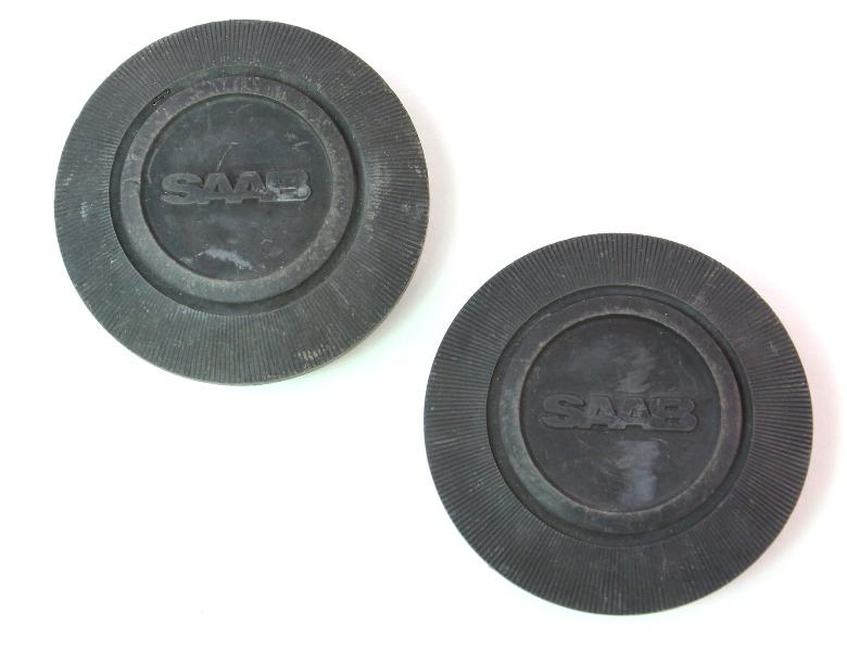 2x Wheel Center Hub Cap Hubcap Saab 89 38 631 - 60mm