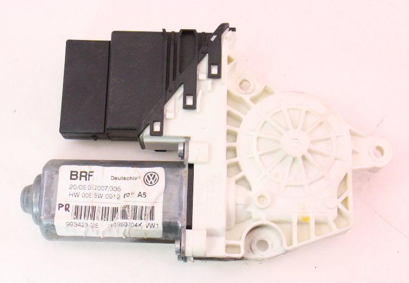 RH Rear Window Motor & Module 06-09 VW Rabbit GTI MK5 4 Door - 1K0 959 704 K