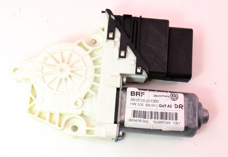 Lh Rear Window Motor Amp Module 06 09 Vw Rabbit Gti Mk5 4