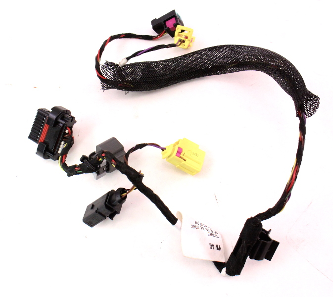 RH Front Seat Wiring Harness 06-09 VW Rabbit GTI MK5 Side Air Bag 1K0 971 293 EE