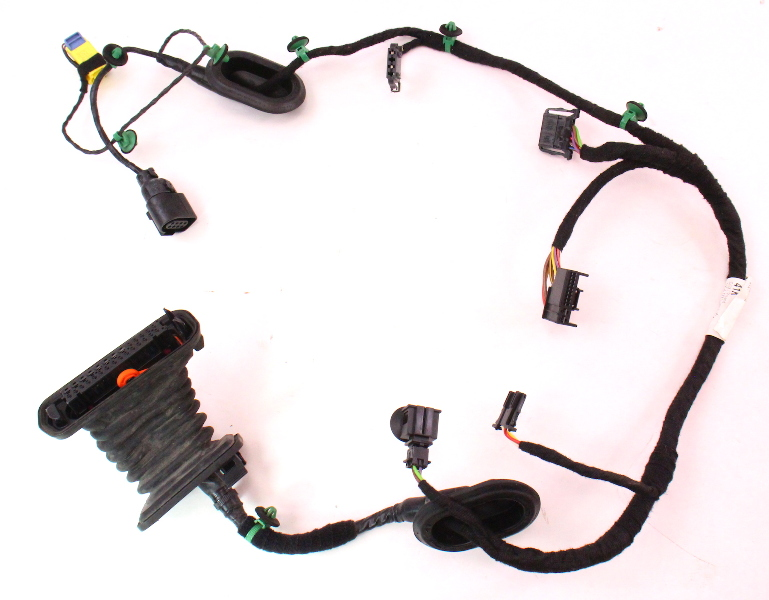 Rh Front Door Wiring Harness 06 09 Vw Rabbit Gti Mk5 4