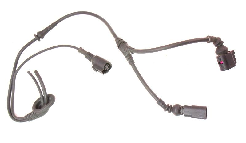 LH Front ABS Sensor Wiring Plug Pigtail Range Sensor 05-10 VW Jetta GLI GTI MK5