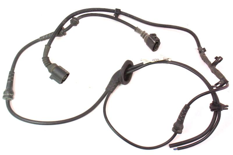 LH Rear ABS Sensor Wiring Plug Pigtail Range Sensor 05-10 VW Jetta GLI GTI MK5