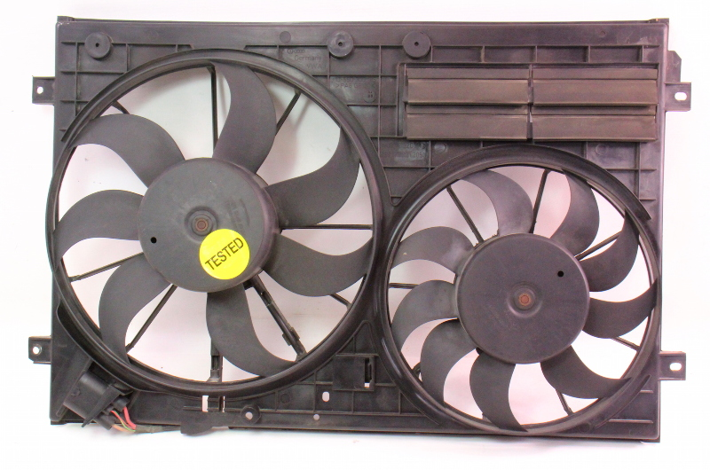 Cooling Fans Amp Shroud Assembly 06 09 Vw Rabbit Gti Mk5 Eos