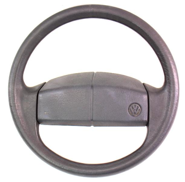 Steering Wheel 85-92 VW Jetta Golf MK2 - Genuine - 321 419 660