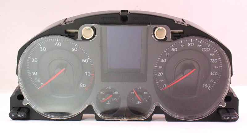 Gauge Cluster Speedometer 06 07 Vw Passat B6 Genuine