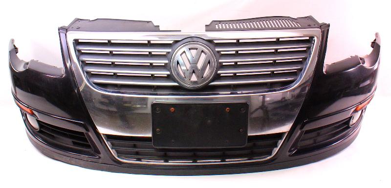 Genuine Front Bumper Cover 06 10 Vw Passat B6 Lc9x Black