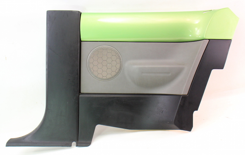rh rear door panel   vw beetle interior trim lgv green