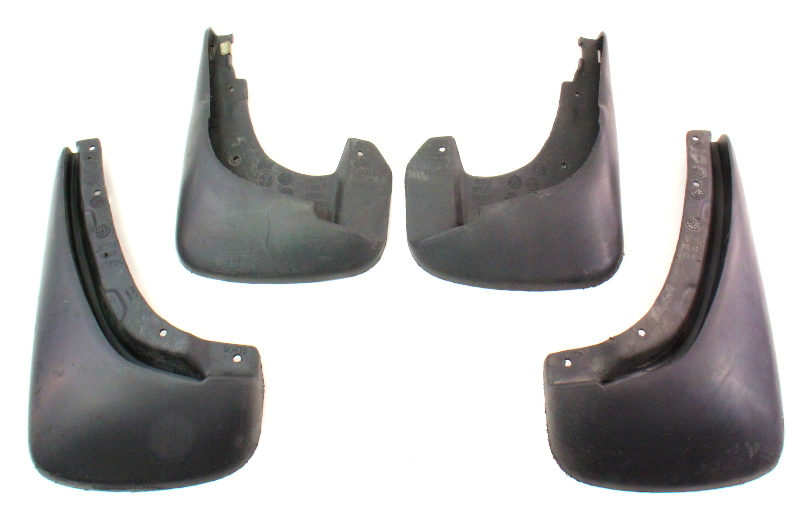 Genuine Vw Mudflap Mud Flap Set 99 05 Vw Jetta Golf Gti