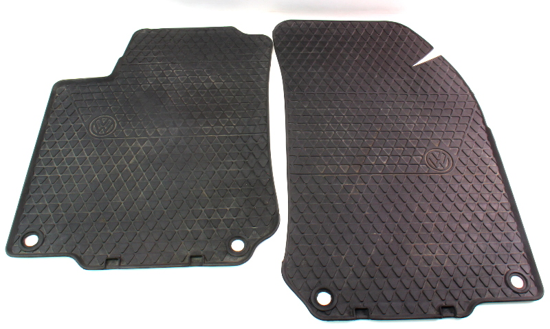 All Season Weather Front Rubber Floor Mats 99-05 VW Jetta Golf MK4 - 1J1 061 501