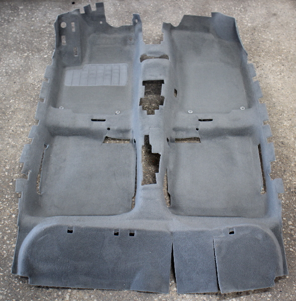 Genuine Grey Interior Floor Carpet 99-05 VW Jetta Golf MK4 - 1J1 863 367 AA 08G