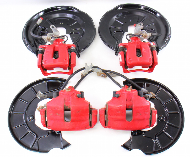 Front  U0026 Rear Gti Big Brake Upgrade 05-10 Vw Jetta Gli Gti Rabbit Mk5