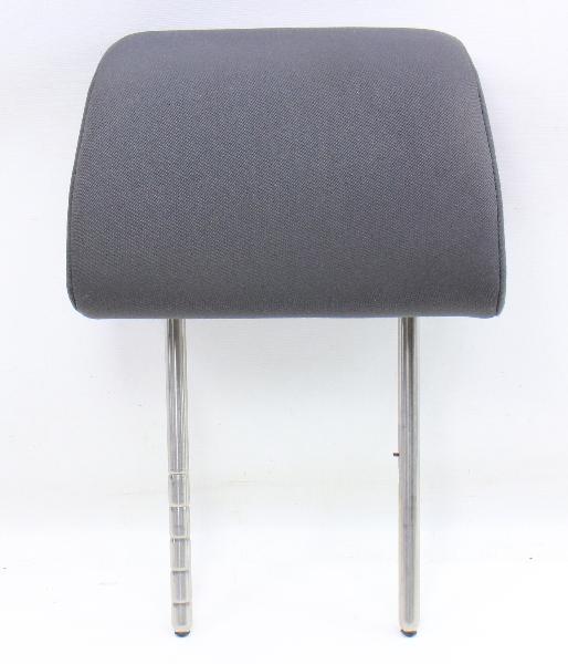 RH Front Seat Headrest 05-10 VW Rabbit GTI Jetta MK5 Anthracite - Genuine