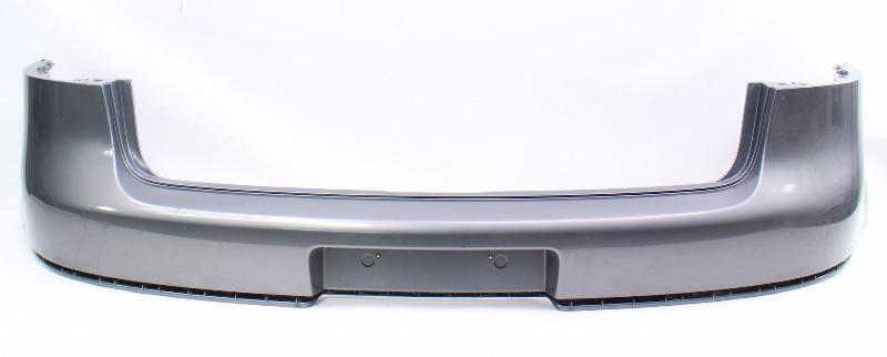 Genuine Rear Upper Bumper Cover 06-09 VW GTI MK5 LA7T Gray - 1K6 807 421 A
