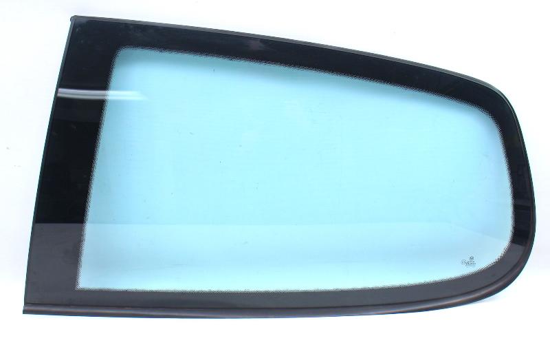 LH Rear Quarter Window Side Back Glass 06-09 VW Rabbit GTI MK5 - Blue Tint