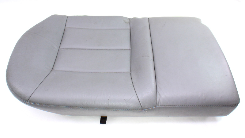 RH Rear Back Seat Cushion & Cover 99-05 VW Jetta Golf MK4 Grey Leather - Genuine