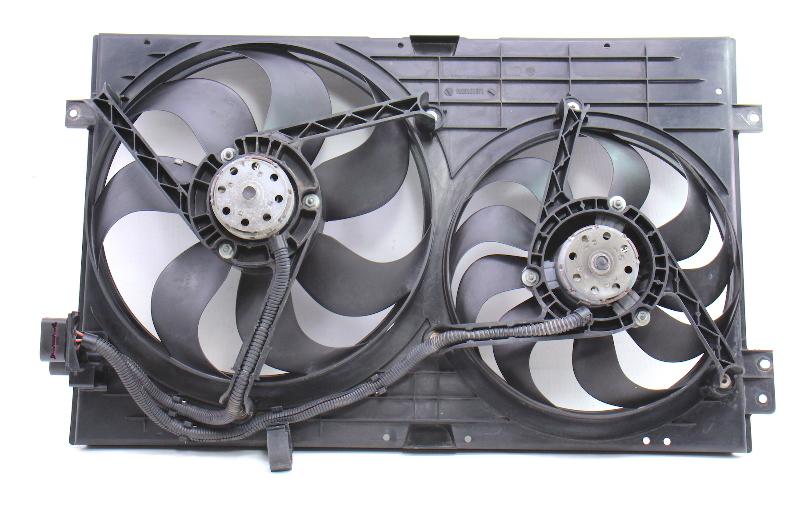 Engine Cooling Fans & Shroud 99-05 VW Jetta Golf GTI MK4 Audi TT ~ 1J0 121 207 J