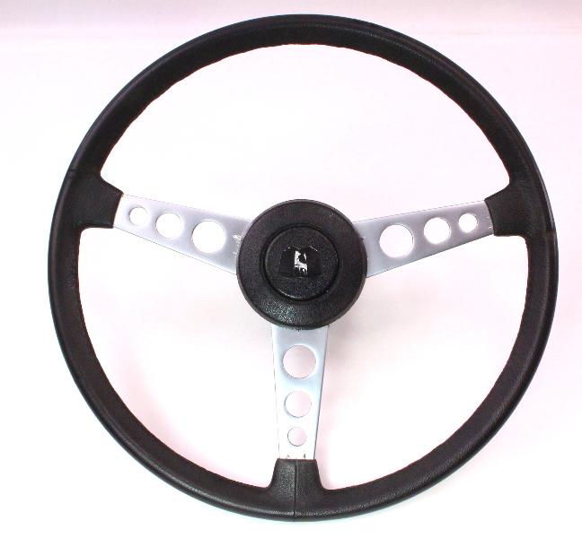 Rare 3 Spoke Sport Wolfsburg Steering Wheel 75-84 VW Rabbit GTI Scirocco MK1