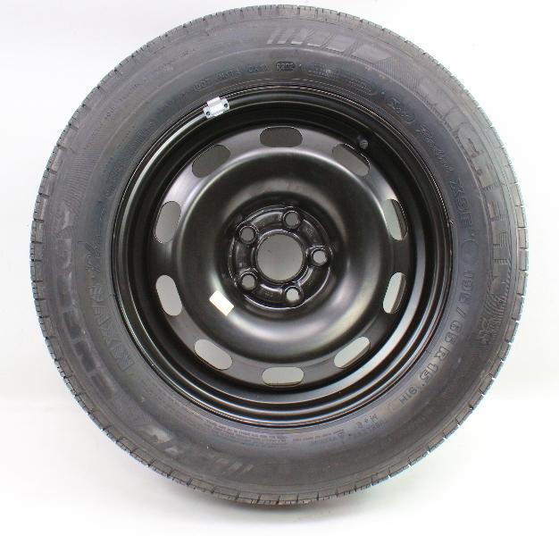 "15"" Full Size Spare Steel Wheel & Tire VW Jetta Golf GTI Mk4 Rim - 1J0 601 027 H"