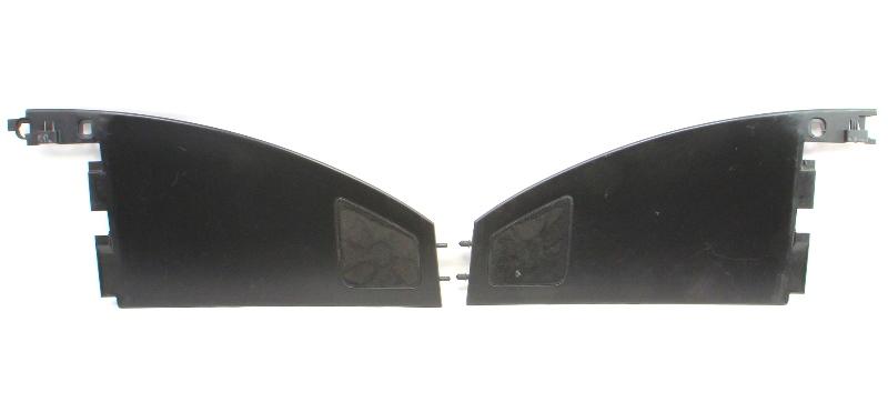 Upper Dash Panel Speaker Set 98-10 VW New Beetle Black Dashboard Panels