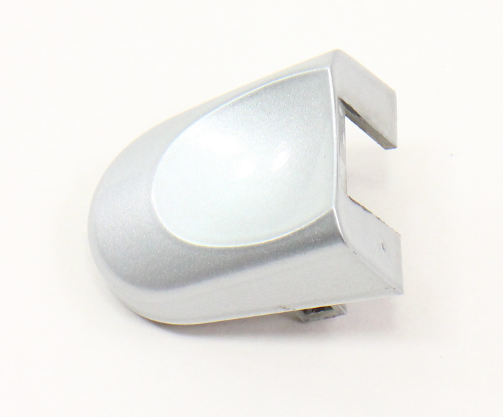 RH Exterior Door Handle Thumb Cap 98-10 VW Beetle LA7W Silver - 1C0 837 879 A