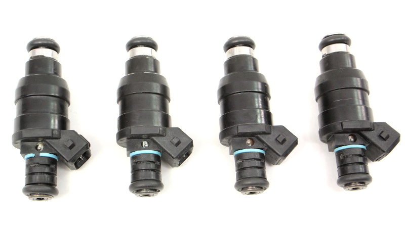 Set Of 4 Fuel Injectors Delphi 42lb 01d030b