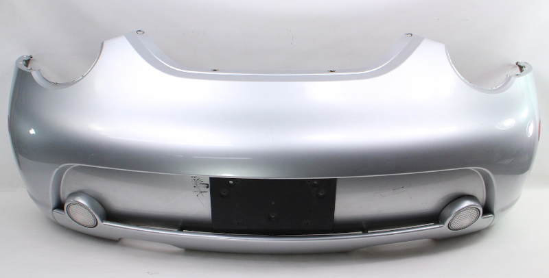 Rear Bumper Cover 02-05 Vw Beetle Turbo S La7w Silver - Genuine