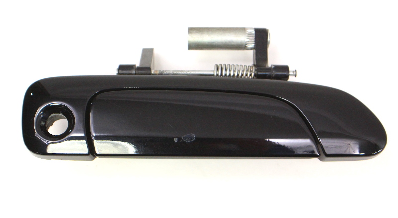 RH Front Exterior Door Handle 2007-2008 Honda Fit - Black - Genuine