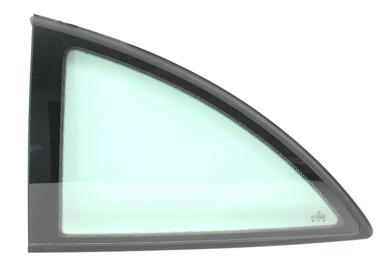 LH Rear Quarter Window Side Glass 98-10 VW New Beetle Coupe - Genuine