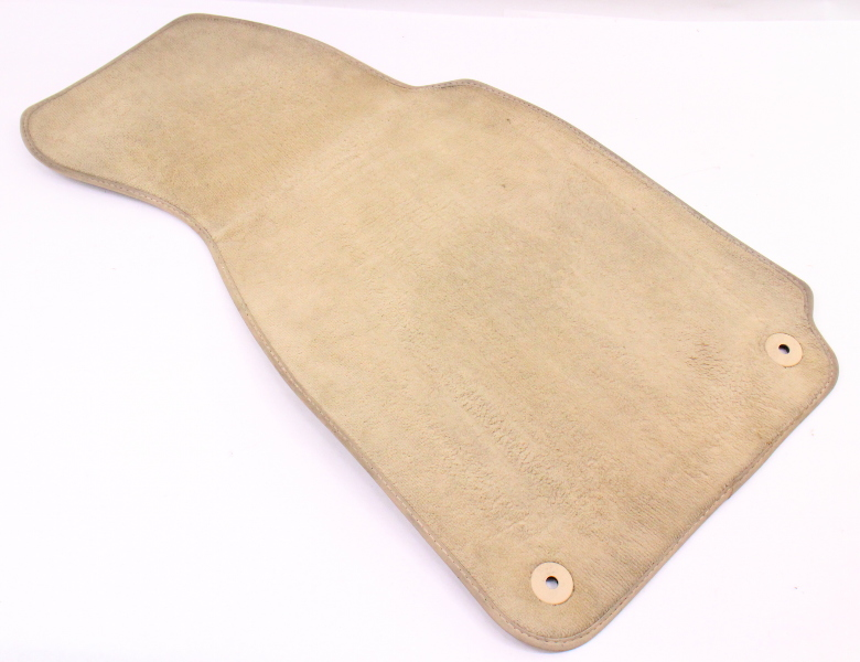 RH Front Floor Mat Carpet 01-05 VW Passat B5.5 - Beige - Genuine - 3B1 864 436 B