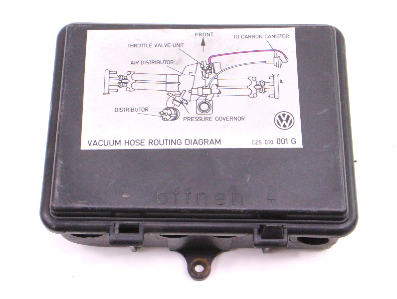 Engine Bay Relay Box Vanagon T3 80-91 Westfalia - Genuine - 251 906 296