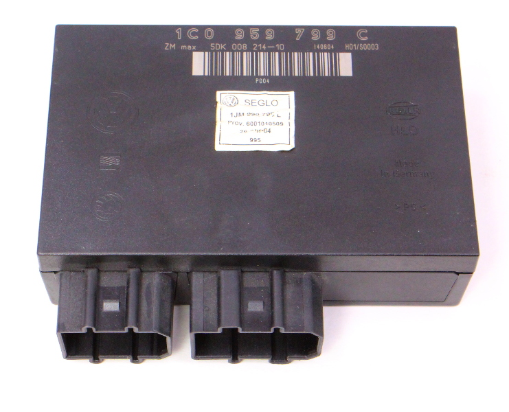 Comfort Control Module CCM 02-05 VW Jetta MK4 - Genuine - 1C0 959 799 C