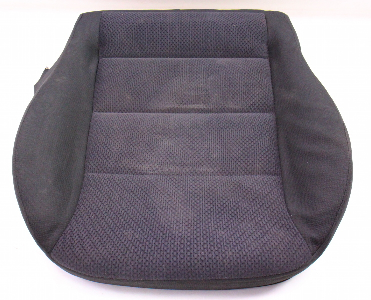 Front Seat Cushion & Cover 04-05 VW Jetta Golf MK4 Dark Grey Cloth Genuine ~